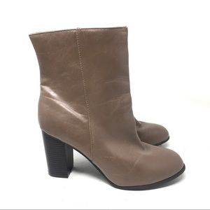 Ny & Co Taupe Ankle Boots 9